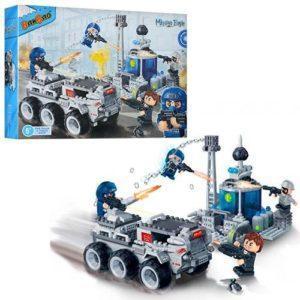 Конструктор «Военная машина» (328 деталей)
