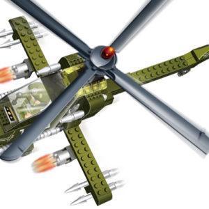 Конструктор «Военный вертолёт»