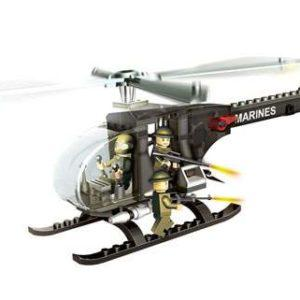 Конструктор «Военный вертолёт» с аксессуарами