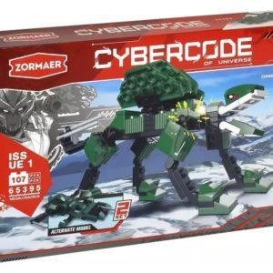 Конструктор Zormaer «Cybercode: Megalosaurus» (107 элементов, арт. 65395)