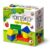 Кубики деревянные – конструктор 12 элементов, окрашенный
