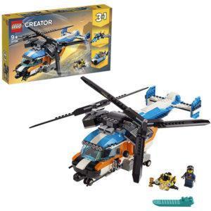 Конструктор LEGO Creator (арт. 31096) «Двухроторный вертолёт»