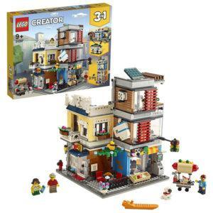 Конструктор LEGO Creator (арт. 31097) «Зоомагазин и кафе в центре города»