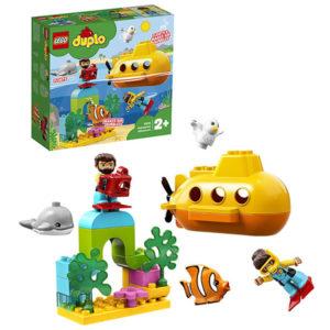 Конструктор LEGO Duplo (арт. 10910) «Путешествие субмарины»