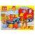 Конструктор Город мастеров «Большие кубики: Машинка с жирафом» (10 деталей, арт. 1005)