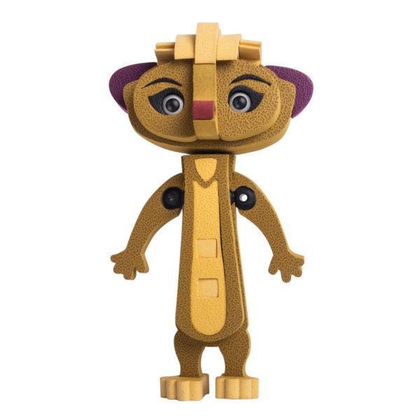 Конструктор «Лео и Тиг: Мила» (40 деталей, арт. LTE015M)