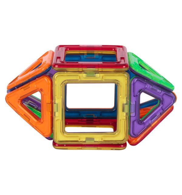 Магнитный конструктор Игруша «Квадрат оранжевый» (14 деталей, арт. JH6898)