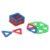 Магнитный конструктор Игруша «Квадрат синий» (арт. JH6898)