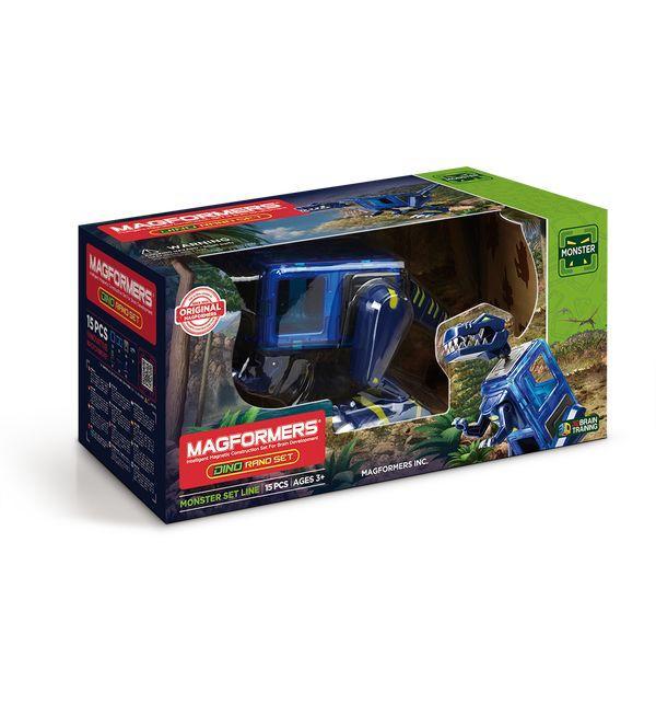 Магнитный конструктор Magformers «Динозавры: Dino Rano set» (арт. 716003)