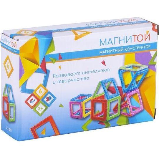 Магнитный конструктор Магнитой «6 деталей» (арт. LL-1001)