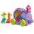 Mattel Mega Bloks FFY14 Мега Блокс Неуклюжий слон розовый