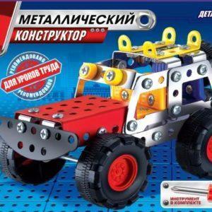 Металлический конструктор Город Мастеров «Джип» (146 деталей, арт. 1214)