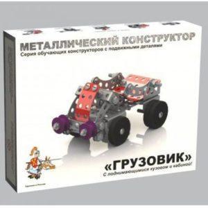 Металлический конструктор – Грузовик с подвижными деталями