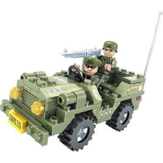 Набор для конструирования Ausini Армия 108 деталей