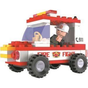 Набор для конструирования Ausini «Пожарная бригада» (58 деталей, арт. 21201)