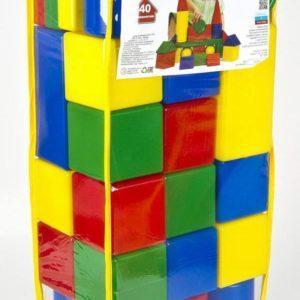 Набор строительных кубиков, 40 элементов
