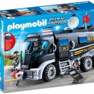 Игровой набор Playmobil «Полиция: Тактическое подразделение на полицейском грузовике» (арт. 9360)
