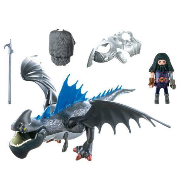 Playmobil DRAGONS Драконы: Драго и Громокоготь