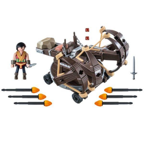Playmobil DRAGONS. Драконы: Эрет с 4 баллистами