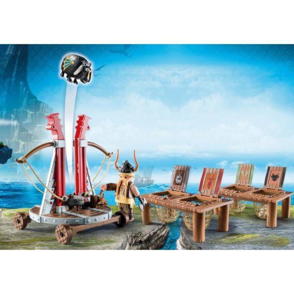 Playmobil Драконы: Плевака и Вепр