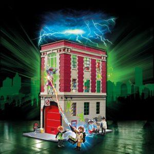 Игровой набор - Охотники за привидениями: Здание пожарной службы