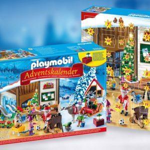 Игровой набор Playmobil «Мастерская Санта-Клауса с адвент-календарём» (106 деталей, арт. 9264)