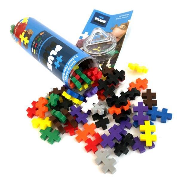 Plus Plus 4023 Разноцветный конструктор для создания 3D моделей (базовый набор)