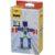 Разноцветный конструктор для создания 3D-моделей – Робот, коричневый