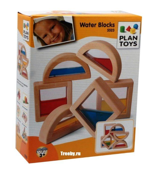 Развивающая игрушка из каучукового дерева «Водяные блоки» (арт. 5523)