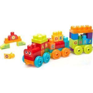 Развивающая игрушка-конструктор «Обучающий поезд: Алфавит» (50 элементов)