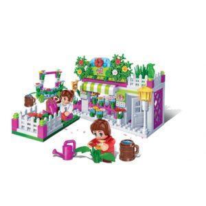 Развивающий конструктор «Цветочный магазин»