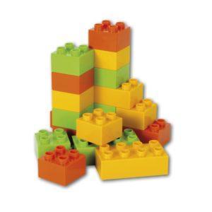 Строительные кубики для грузовика (Efko, 18 штук)