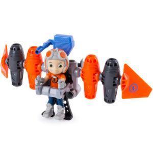 Строительный набор с фигуркой героя Rusty Rivets - Jetpack
