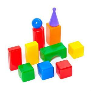 Строительный набор - Стена-2, 11 элементов