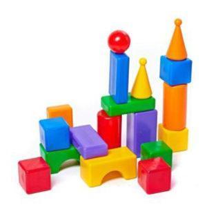 Строительный набор - Стена-2, 18 элементов