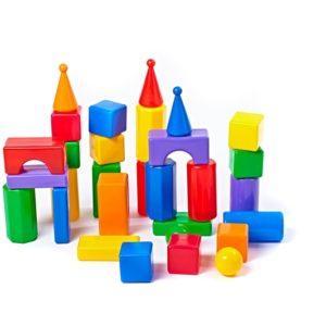 Строительный набор - Стена-2, 30 элементов