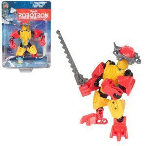 Трансформер Robotron Superforce Робот-конструктор (красно-желтый)