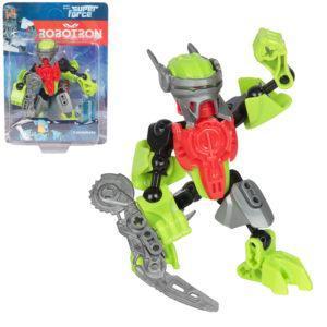 Трансформер Robotron Superforce Робот-конструктор (салатово-красный)