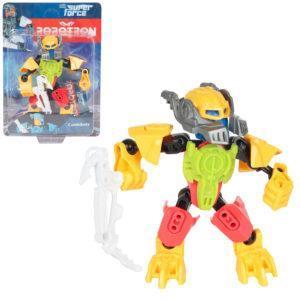 Трансформер Robotron Superforce Робот-конструктор (желто-салатовый)