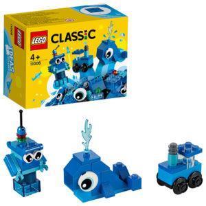 Конструктор LEGO Classic (арт. 11006) «Синий набор для конструирования»
