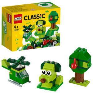 Конструктор LEGO Classic (арт. 11007) «Зелёный набор для конструирования»