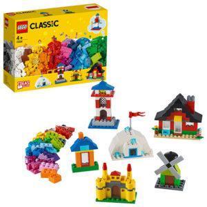 Конструктор LEGO Classic (арт. 11008) «Кубики и домики»