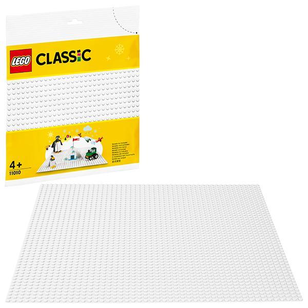 Конструктор LEGO Classic (арт. 11010) «Белая базовая пластина»