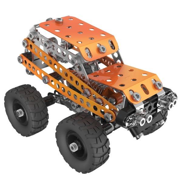 Конструктор металлический Meccano 2 в 1 «Внедорожник» (190 деталей, арт. 91750)