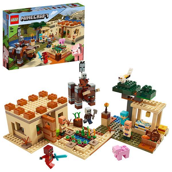 Конструктор LEGO Minecraft (арт. 21160) «Патруль разбойников»