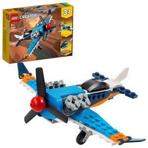 Конструктор LEGO Creator (арт. 31099) «Винтовой самолёт»