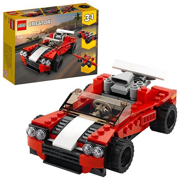 Конструктор LEGO Creator (арт. 31100) «Спортивный автомобиль»