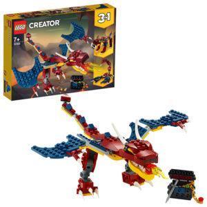 Конструктор LEGO Creator (арт. 31102) «Огненный дракон»