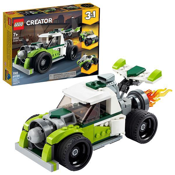 Конструктор LEGO Creator (арт. 31103) «Грузовик-ракета»