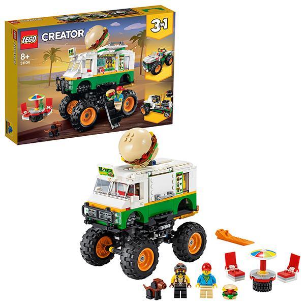Конструктор LEGO Creator (арт. 31104) «Грузовик Монстрбургер»